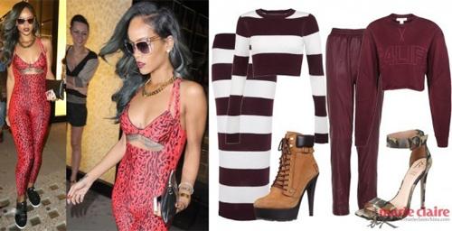 Học Rihanna khoe đường cong mùa lạnh - 10