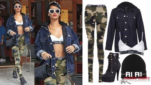 Học Rihanna khoe đường cong mùa lạnh - 14
