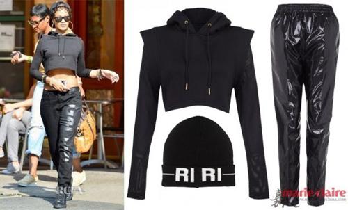 Học Rihanna khoe đường cong mùa lạnh - 7
