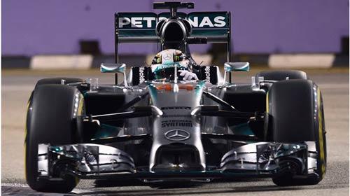 Phân hạng Singapore GP – Hamilton đoạt pole kịch tính - 1
