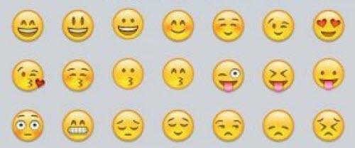 Bàn phím ảo gợi ý mặt cười ngộ nghĩnh trên iOS 8 - 1