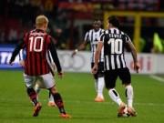 Bóng đá - Milan - Juventus: Khoảnh khắc ngôi sao
