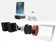 """Máy in/phụ kiện - Concept: Hộp đựng Apple Watch kiêm """"củ sạc"""" iPhone"""