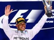 """Thể thao - Singapore GP: Rosberg bỏ cuộc, Hamilton """"vô đối"""""""