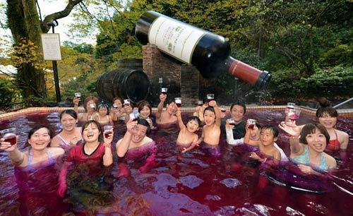Bơi trong rượu, tắm trong trà ở Nhật Bản - 2