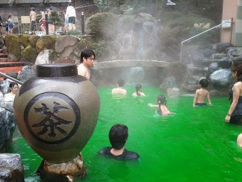 Bơi trong rượu, tắm trong trà ở Nhật Bản - 6