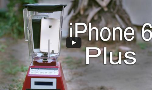 Nghiền nát iPhone 6 Plus bằng máy xay sinh tố - 1