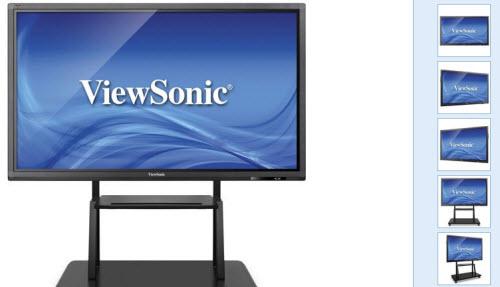 ViewSonic trình làng màn hình 4K, cảm ứng 6 điểm đồng thời - 1