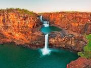 Du lịch - Chiêm ngưỡng thác nước 4 tầng tuyệt đẹp ở Australia