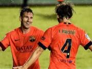 Bóng đá - Barca: Messi tạo bão cuốn phăng đối thủ