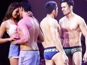 Thời trang - Sao nam Phillipines diễn nội y, âu yếm kiểu đồng tính