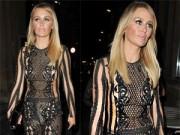 Thời trang - Người mẫu Anh hở 80% cơ thể với áo liền quần lưới