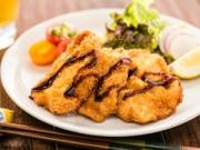 Ẩm thực - Bữa tối nhanh gọn với ức gà tẩm bột chiên giòn