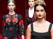 Thời trang - Dolce & Gabbana vẫn hấp dẫn mê hồn dù cũ kỹ