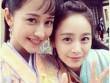 Kim Tae Hee khoe mặt mộc trên phim trường