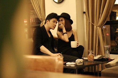 """Nathan Lee """"cặp kè"""" bạn gái cũ Trấn Thành - 5"""