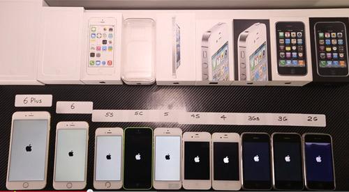 10 mẫu iPhone cổ, kim của Apple đọ tốc độ màn hình - 1