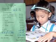 Giáo dục - du học - Tiền trường đầu năm: Tiền thu đầy tay, biên lai không có