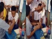 Cười 24H - Clip khi thanh niên cứng đi tiêm phòng