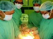 Sức khỏe đời sống - Lần đầu tiên điều trị thành công ung thư dạ dày bằng nội soi