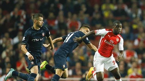 Arsenal – Southampton: Cú nã đạn sấm sét - 1