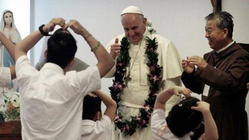 Giáo hoàng yêu cầu một bữa ăn đặc biệt - 1