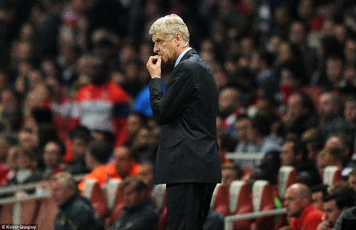 Thua ngược, HLV Wenger đổ lỗi cho học trò - 1