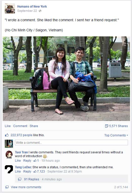 Ảnh cặp đôi Việt xôn xao trên fanpage nước ngoài - 1