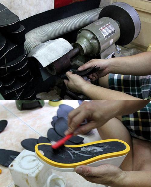 Nghề đóng giày vẫn đắt khách chân lệch cỡ - 2