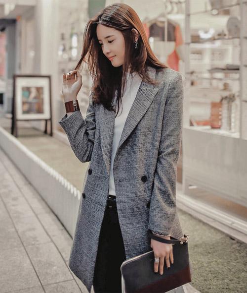 Áo khoác đẹp cho chị em tung tăng xuống phố - 1