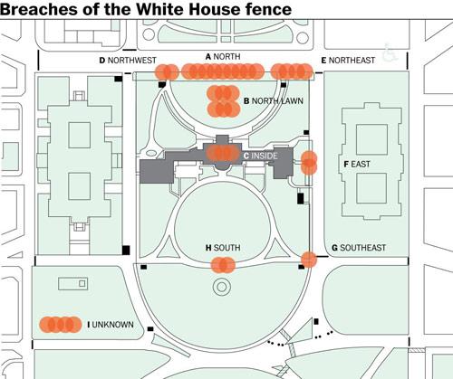 Những vụ đột nhập chấn động Nhà Trắng - 1