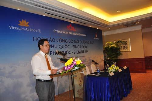 Vietnam Airlines mở thêm hai đường bay quốc tế đến Phú Quốc - 1