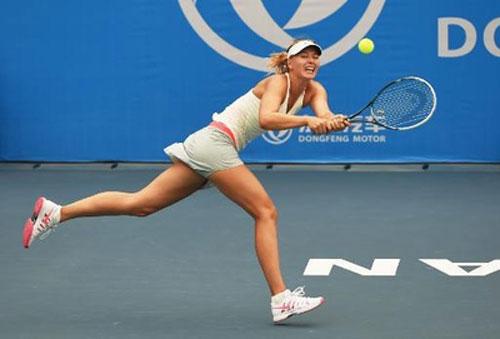 Sharapova thua sốc ở Vũ Hán - 1