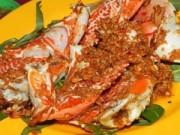 Ẩm thực - Cua biển rang muối với xuyên tiêu