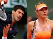 Thể thao - Djokovic làm thuyết khách cho chuyện tình của Sharapova