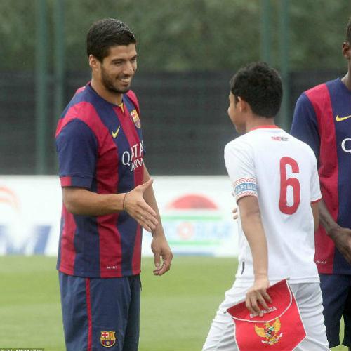 Suarez lập cú đúp giúp đội trẻ Barca đại thắng - 2