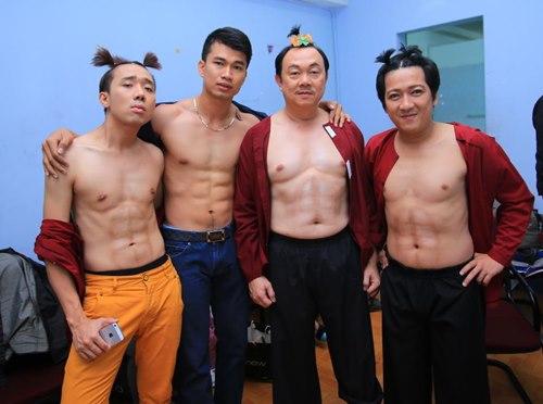 """Trấn Thành khoe bụng """"6 múi"""" với Việt Hương - 9"""