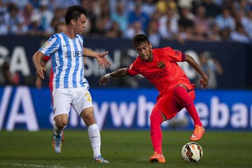 Malaga – Barca: Chiến đấu máu lửa - 1