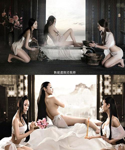 """Ảnh nude của sao Việt là """"hàng nhái"""" - 12"""