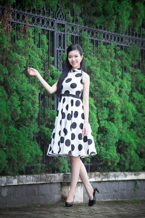 Ngắm ảnh đẹp của thí sinh Hoa hậu VN phía Bắc - 1