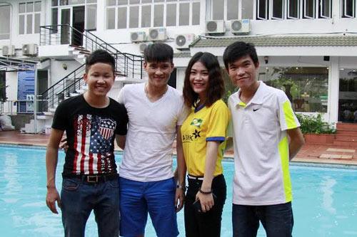 Công Vinh ủng hộ U19 Việt Nam đá SEA Games 2015 - 3