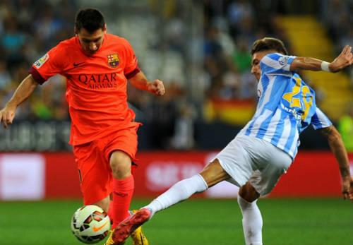 """Luis Enrique: """"Messi đã bị khóa chặt"""" - 1"""