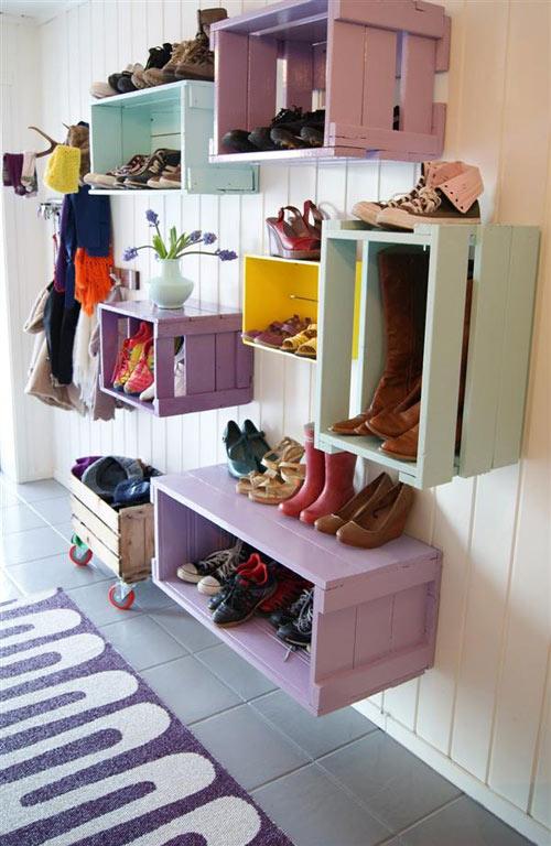 14 mẹo sắp xếp tủ giày thông minh cho chị em - 2