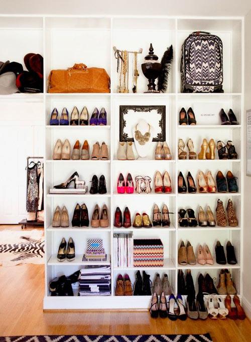 14 mẹo sắp xếp tủ giày thông minh cho chị em - 4