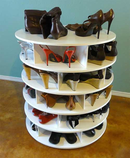 14 mẹo sắp xếp tủ giày thông minh cho chị em - 5