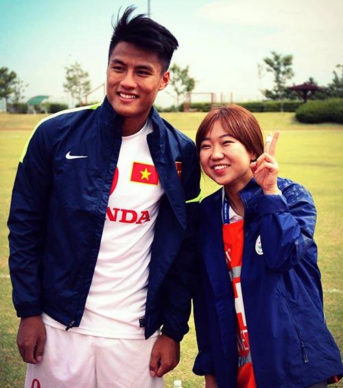 """""""Hotboy"""" Olympic VN được hâm mộ như ca sỹ Hàn Quốc - 1"""
