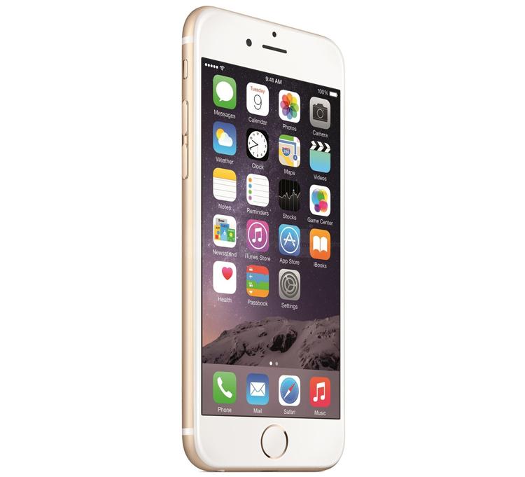 1. iPhone 6 và iPhone 6 Plus  Smartphone mới nhất của Apple mới được ra mắt, iPhone mới có các biến thể màu sắc tương tự như iPhone 5S, iPhone 6 và iPhone 6 Plus phiên bản màu vàng có hai cạnh bên và mặt sau màu vàng, tuy nhiên phần phía trước của thiết bị (trừ hình tròn quanh nút Home) là màu trắng.