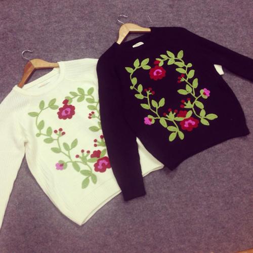 Áo len đẹp rút hầu bao của cô gái Hà Thành - 4