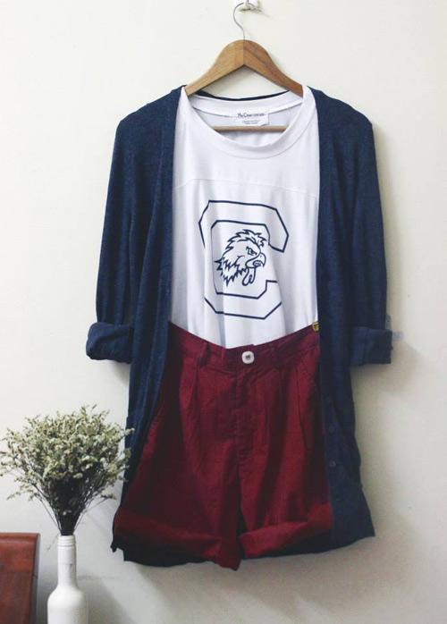 Áo len đẹp rút hầu bao của cô gái Hà Thành - 7