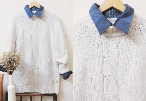 Áo len đẹp rút hầu bao của cô gái Hà Thành - 8